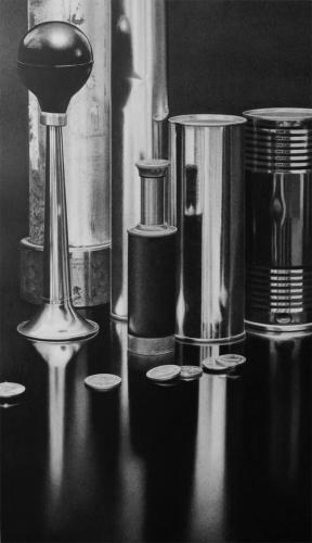 cilindros metal luz lapicero