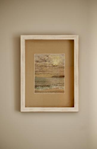 dibujo de paisaje marítimo